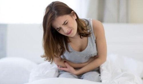 Epigastralgie oder Oberbauchschmerzen