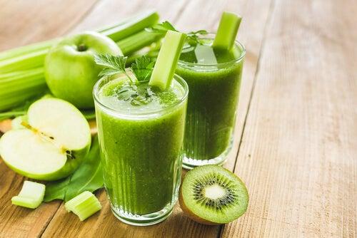 Detox-Kur mit grünen Smoothies