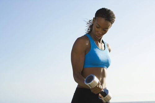starke Oberarme durch Training