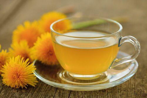 Löwenzahn-Tee