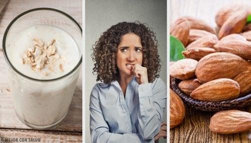 10 Nahrungsmittel gegen Nervosität