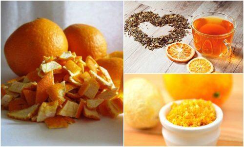 5 Ideen zur Weiterverwendung von Orangenschalen