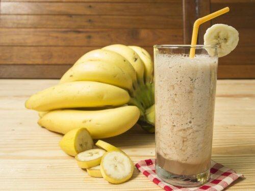 Nutzung von Bananen für Drinks