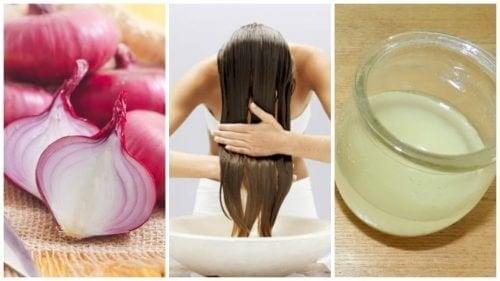Wie Zwiebeln gegen Haarausfall helfen können