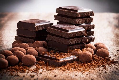 Auf Schokolade bei Sodbrennen verzichten