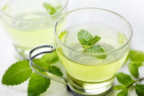 beruhigende Tees: Pfefferminztee