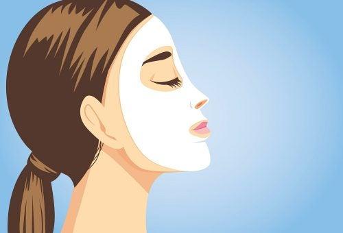 5 Gesichtsmasken für strahlende Haut