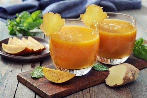 Darmreinigung mit Aloe vera und Mango