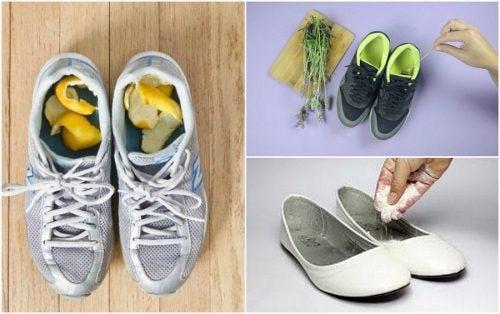5 Hausmittel gegen schlechten Schuhgeruch