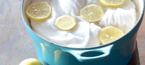Anwendungen für Zitronen: Flecken entfernen