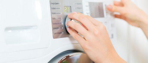 Waschprogramm richtig wählen zur Pflege der Wäsche