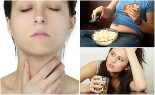 7 Gewohnheiten, die der Gesundheit deiner Schilddrüse schaden