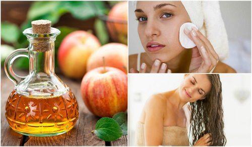 5 Schönheitsgeheimnisse mit Apfelessig