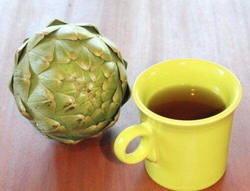 Eigenschaften der Artischocke als Tee zubereitet