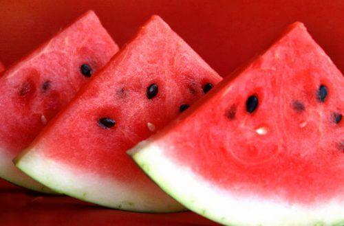 Obst- und Gemüsesorten gegen Flüssigkeitsretention: Wassermelone