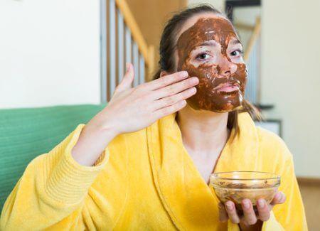 Gesichtsmaske mit Zimt