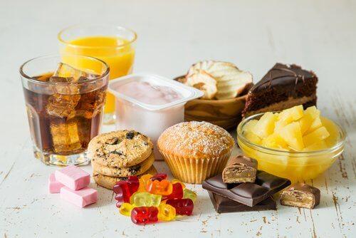Zuckerhaltige Lebensmittel in der Menopause