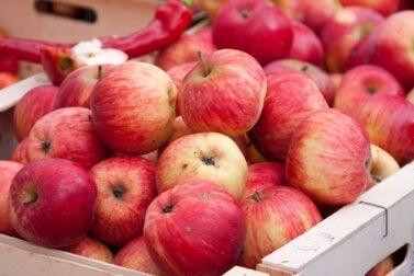 roter oder ein grüner Apfel?