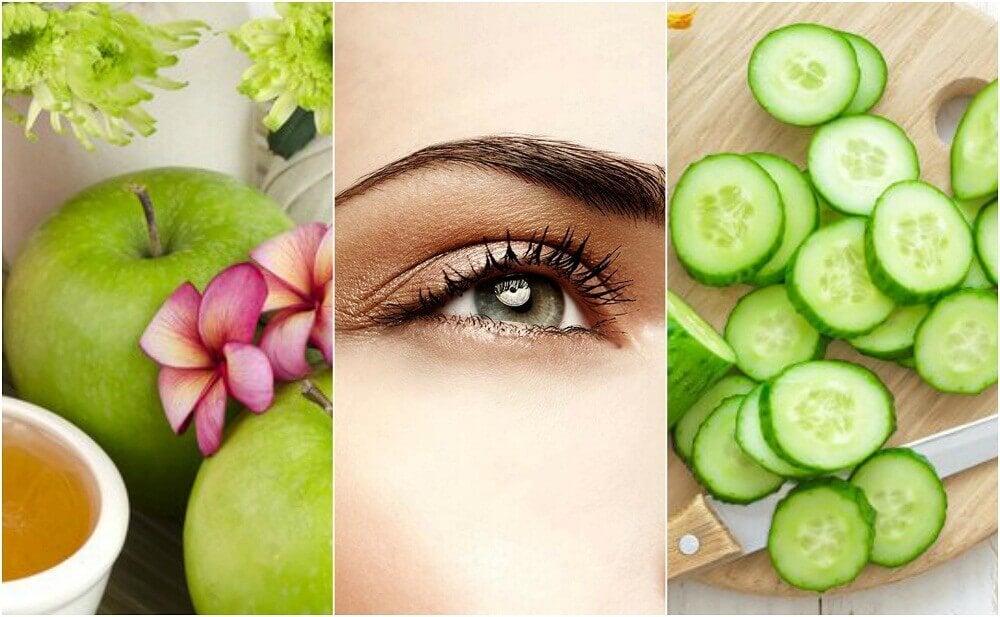 5 Naturheilmittel gegen hängende Augenlider