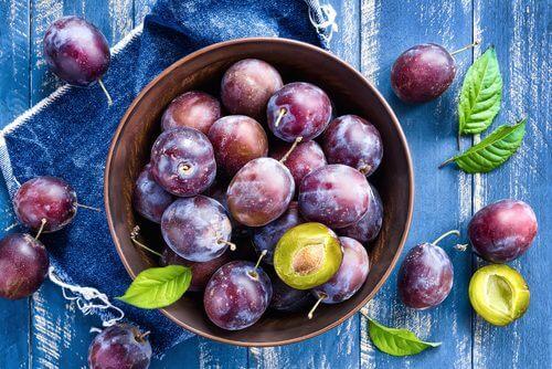 Früchte gegen Verstopfung