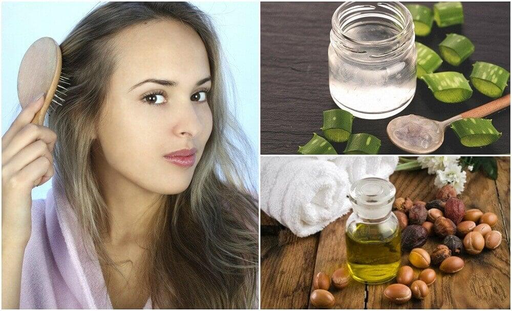 5 Hausmittel zur Bekämpfung von Haarausdünnung