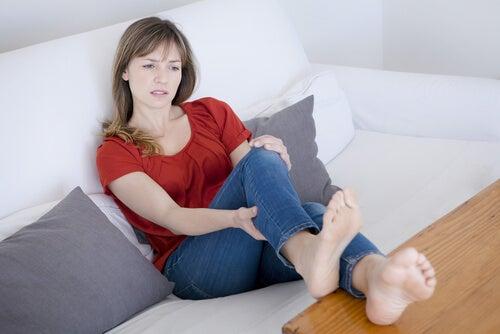 Krämpfe sind Ursachen für FLüssigkeitseinlagerungen