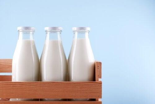 Kombination von Lebensmitteln mit Calcium