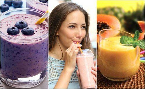 5 Mixgetränke für ein gesundes Frühstück