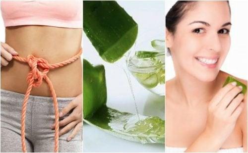 9 medizinische Vorteile von Aloe Vera Gel