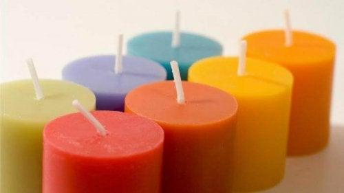 Energetische Reinigung mit Kerzen