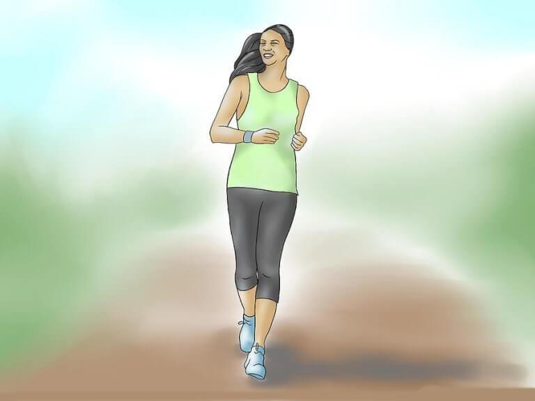 Der tägliche Spaziergang hält dich fit!