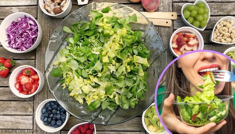 5 nahrhafte und einfache Salate