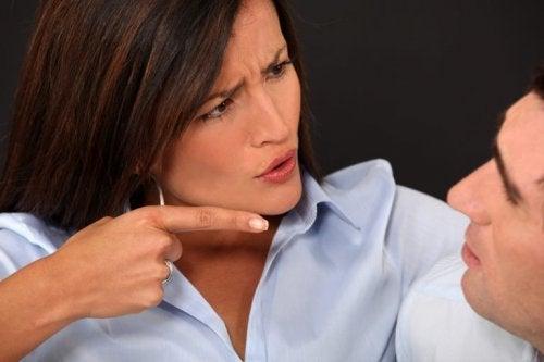 Verhaltensweisen zwischen Mann und Frau