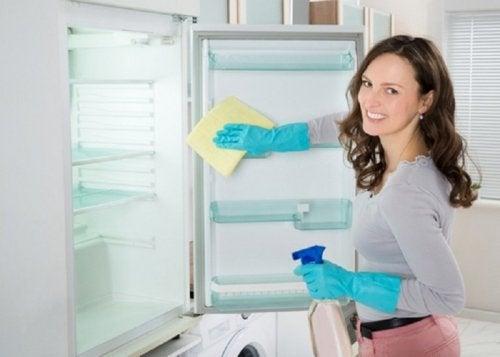 Anwendungsbeispiele für Wasserstoffperoxid: Kühlschrank reinigen