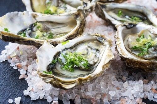 Nahrungsmittel für einen gesunden Haarwuchs: Austern