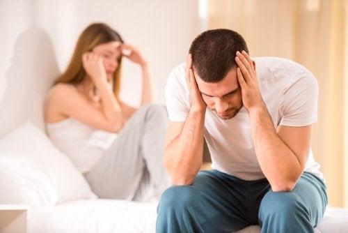 Paar erlebt verschiedene Arten von Untreue