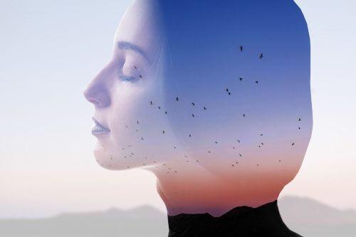 negative Gedanken einer Frau