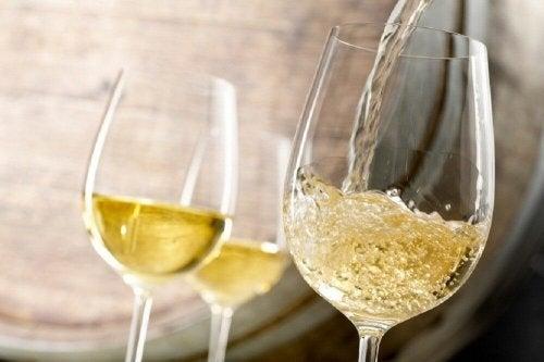 Behandlung von Anämie mit Weißwein