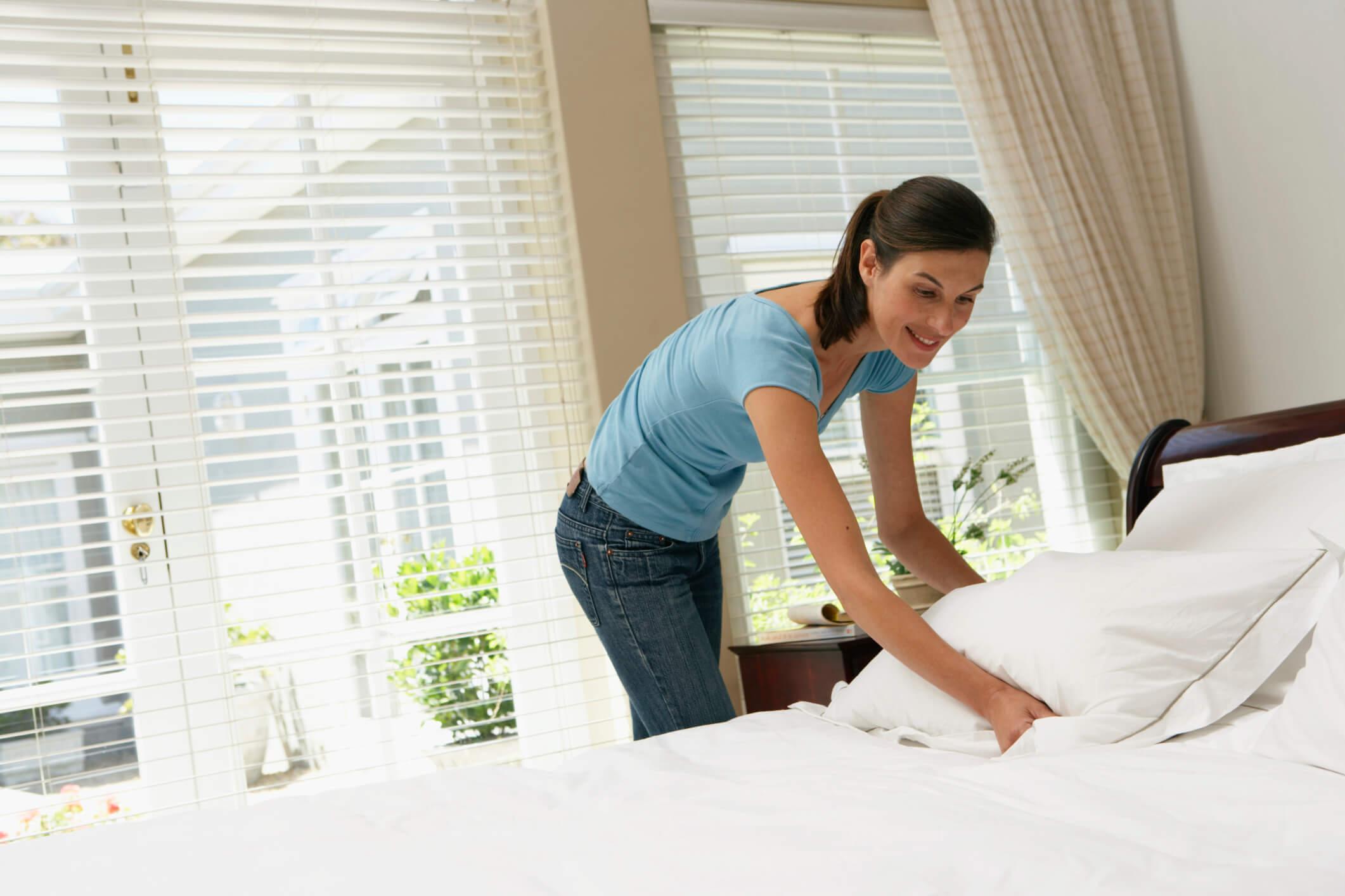 Wie oft sollte Bettwäsche gewechselt werden?
