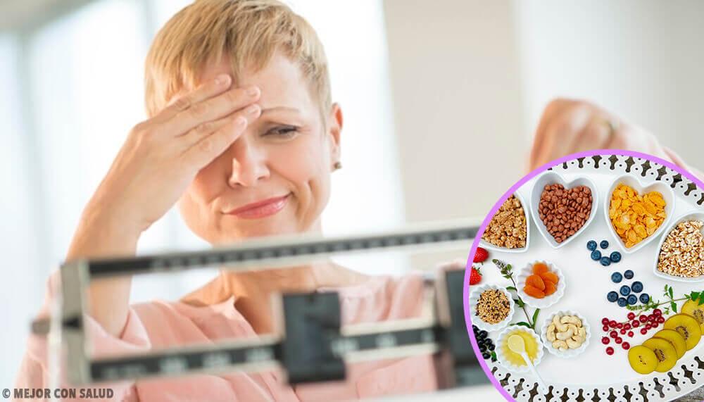 Ideale Ernährung gegen Gewichtszunahme in den Wechseljahren