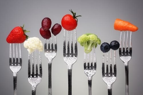 gesunde Ernährung um Gewichtszunahme im Alter zu vermeiden