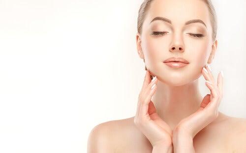 Produktion von Kollagen fördern für schöne Haut