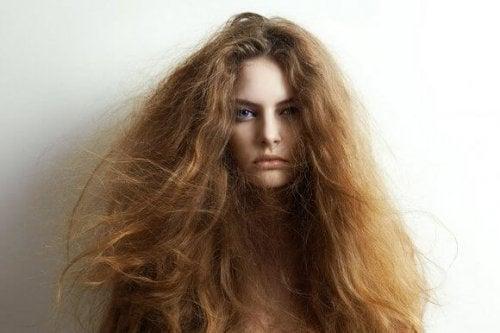 5 natürliche Mittel gegen trockenes Haar
