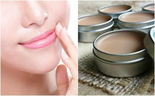 Verwendungsmöglichkeiten von Vaseline: für die Lippen