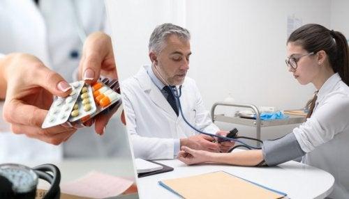 Blutdrucksenkende Arzneimittel, die dick machen