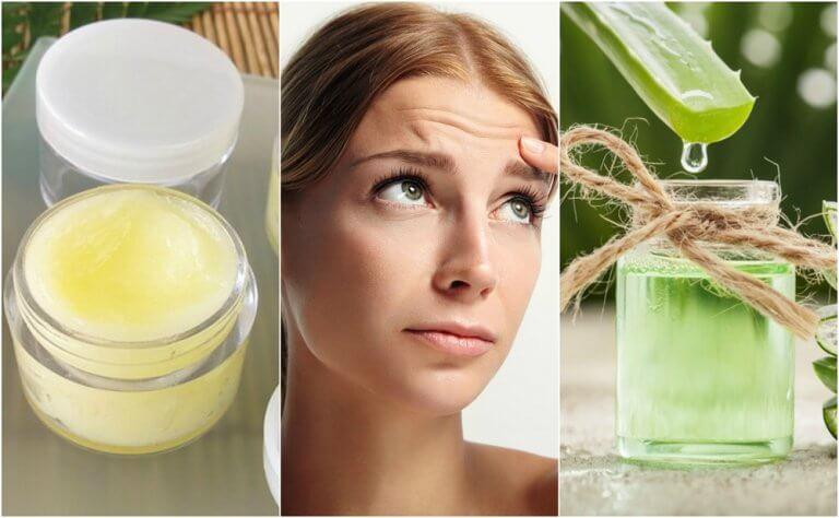 5 natürliche Behandlungen gegen Stirnfalten