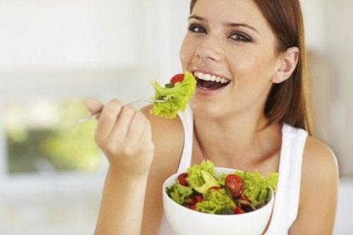 gesunde Ernährung für eine strahlende Haut