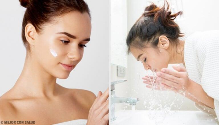 Falsche Hautpflege lässt die Haut schneller altern