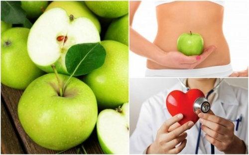 Ein grüner Apfel am Morgen hält dich gesund!