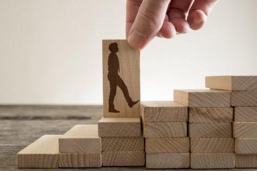 emotionale Stärke bringt dich auf deinem Weg nach vorne